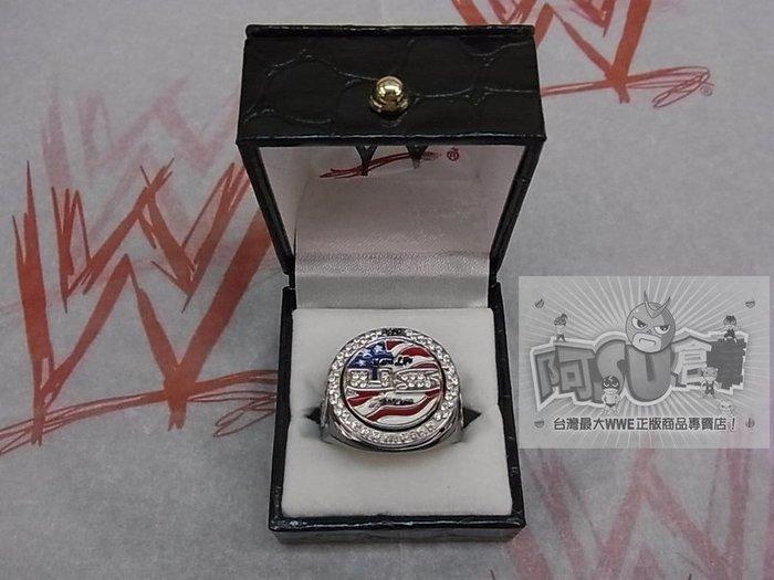 ☆阿Su倉庫☆WWE摔角 US Championship Spinner Ring CENA美國冠軍旋轉限量戒指 熱賣中