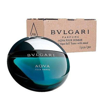 HUAHUA香水美妝 BVLGARI Aqva 寶格麗 水能量 男性 淡香水 100ml【TESTER】