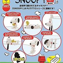 【動漫瘋】日本正版  PUTITTO SNOOPY  史努比 杯緣子 裝飾 史奴比 盒玩 中盒8入販售