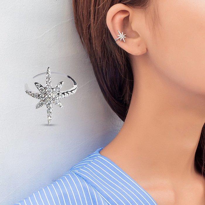 衣萊時尚-熱賣款 無耳洞可戴無痛耳夾假耳環女無洞耳骨夾氣質簡約小巧個性耳釘耳扣