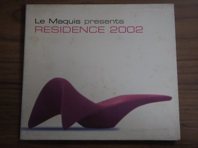 ◎MWM◎【二手CD】Le Maquis- Residence 2002 法版, 部分細紋刮痕