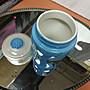 乾唐軒活瓷隨身杯----海碧➕吉祥雙馬330ml