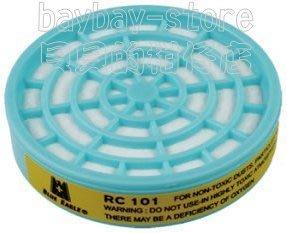 (安全衛生)單/雙濾罐式防塵口罩專用【RC-101濾塵罐】更換用濾材_100%台灣製造!