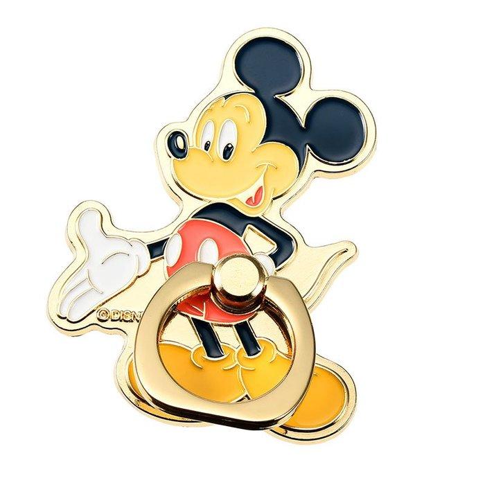 《FOS》2019新款 日本 Disney 迪士尼 米奇 手機 指環 支架 掛勾 指環扣 環扣 iPhone 熱銷 限量