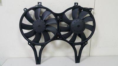 BENZ W210 96-98 水箱散熱馬達 輔助風扇 散熱風扇 電子風扇 外匯整新品 0015001693