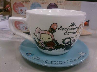 7-11 CITY CAFE  深情馬戲團 甜蜜午茶小杯盤 兔子團長 歡樂合奏