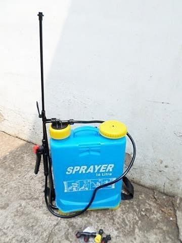 =傾奇電=新款 16公升消毒手動噴霧器 農用背式噴霧器16L 消毒手壓式噴霧器加厚桶耐酸鹼