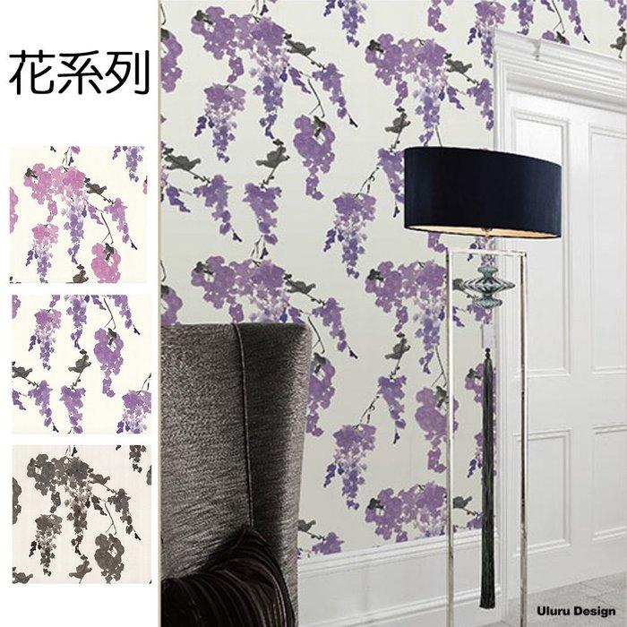 花朵壁紙 DIY壁紙 花 粉色花朵 粉色花朵 鄉村風壁紙 北歐風格 電視牆/主牆/咖啡廳/早午餐/酒吧 設計師款 壁紙