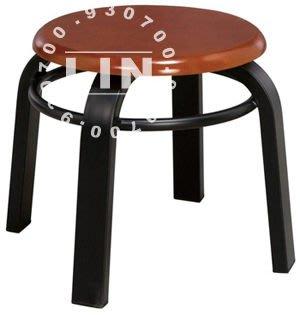 【品特優家具倉儲】384-20餐椅火鍋店用椅家加圈扁管實木餐椅