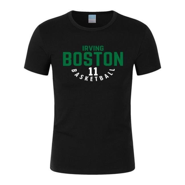 籃球T恤 凱爾特人11號歐文寬松運動短袖籃球比賽服 town