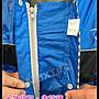 Max工作室~一件式 雨衣【WA-302:寶藍/黑】雙側邊 加寬 拉鍊設計 前開式雨衣 超商取貨付款OK^^
