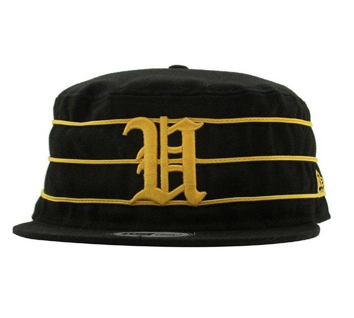 { POISON } UNDEFEATED TIGER U PILLBOX NEW ERA HAT 全封帽型 7 3/8