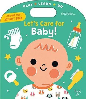 *小貝比的家*LET'S CARE FOR BABY/硬頁/3~6歲 /操作拉拉書