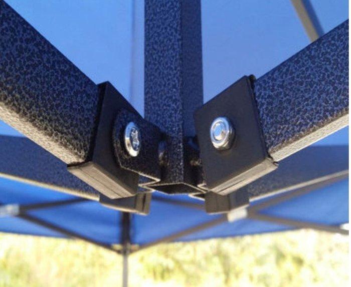 3x3戶外加厚帳篷頂布四角擺攤/折疊遮陽棚
