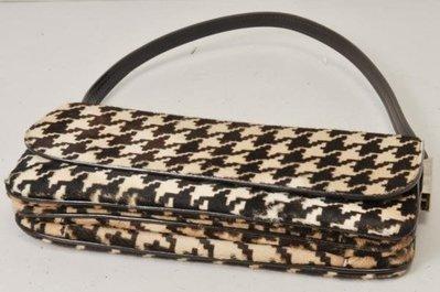 Dolce&Gabbana 《稀有款》千鳥格時尚精品包