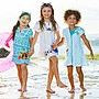 【豆芽Tsai美國商品】美國正品  Disney  Frozen  冰雪奇緣  泳衣罩衫 浴裙  [ 790元含運費 ]