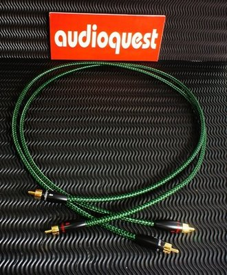 (((立達音響線材DIY專賣店))) Audioquest Copperhead +300RCA頭訊號線