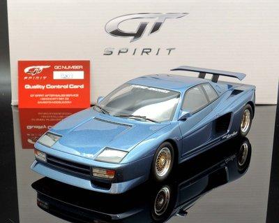 【MASH】現貨特價 GT Spirit 1/18 Ferrari Koenig Testarossa blue