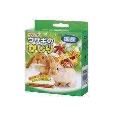 日本SMACK》寵物兔十字型磨牙木3組/盒特價169元