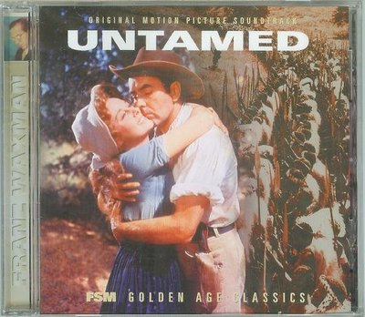 "[原聲帶]-""Untamed""- Franz Waxman(06),全新美版,Limited"