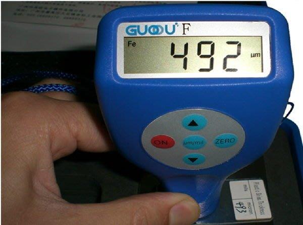【奇滿來】數位式塗層測厚儀 油漆 漆膜 鍍鋅層檢測儀 膜厚儀 快速校零校準 電子 雙用 ALAC