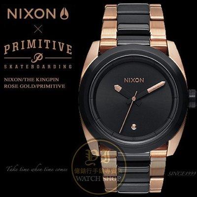 NIXON x PRIMITIVE KINGPIN限量聯名腕錶/A507-2014原廠公司貨/極限/潮流/衝浪