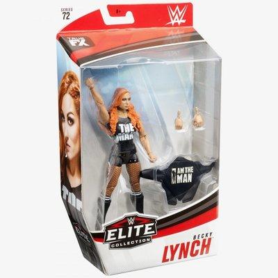 [美國瘋潮]正版WWE Becky Lynch Elite #72 Figure The MAN女漢子精華版公仔人偶預購