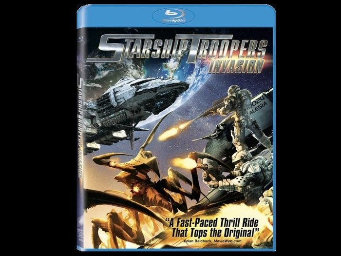 ~BD藍光~星艦戰將:侵略者Starship Troopers Invasion  繁中字