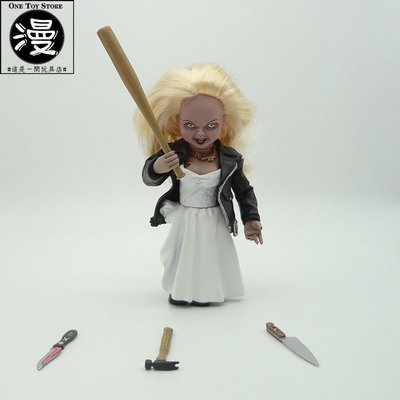 現貨動漫 鬼娃新娘 Bride Of Chucky 楚奇婚紗款 Chucky 可動手辦模型CM0146904