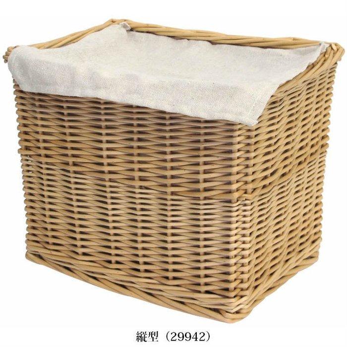 《齊洛瓦鄉村風雜貨》日本zakka雜貨 柳樹編織方形可蓋式收納籃 柳樹藤編收納籃 藤編籃 手提藤編籃 衣物收納籃 (大)
