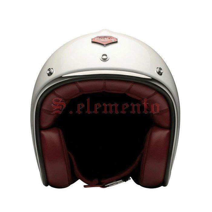 【預購優惠】Ateliers Ruby 安全帽 Pavillon ECE St Honoré 碳纖維 3/4 復古帽