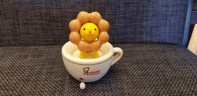 MISTER DONUT 波堤獅 咖啡杯 可以轉動
