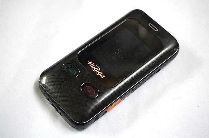 ☆寶藏點☆ HUGIGA HG910 觸控雙卡機 《附旅充或全新萬用充+電池》雙卡機 功能正常 pp46