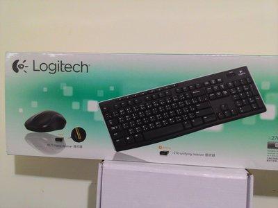 北投區: Logitech 羅技 無線滑鼠鍵盤 超值組合包 鍵盤K275 滑鼠B175,中文版繁體版注音版