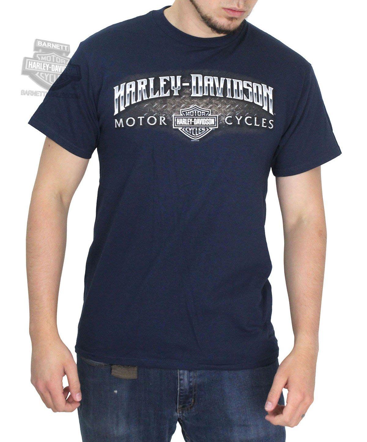 Harley-Davidson 哈雷機車 短袖T 海軍藍 S 全新 現貨 Enraged Clutch