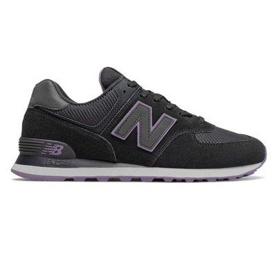 南◇2020 10月 New Balance ML574JHK  574 黑紫色 黑灰色 麂皮