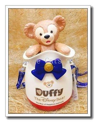 ☆橘子貓的918号店☆日本 現貨  東京 迪士尼 Duffy 達菲熊 限定款 爆米花桶 DISNEY