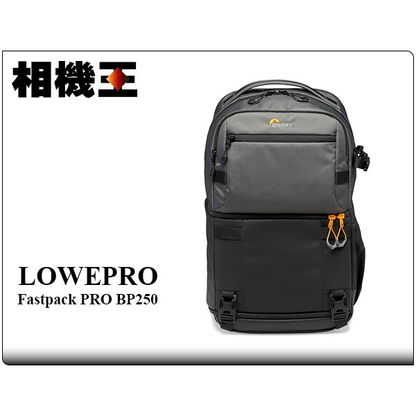☆相機王☆Lowepro Fastpack PRO BP 250 AW III 灰色﹝專業飛梭三代﹞相機包 (5)