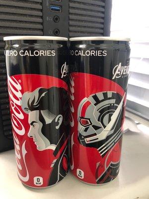 759 avengers 日本限定可樂