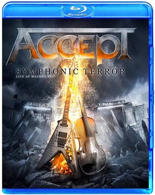 Accept Symphonic Terror Live at Wacken 2017 (藍光BD25G)@XI31227