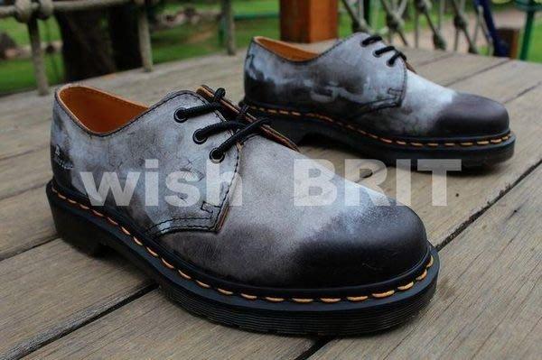 【~希望~完美馬汀】全新 Dr. Martens 1461 三孔 ~七天鑑賞免運~  復古 油蠟 黑色 馬汀靴