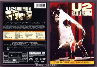 音樂居士#U2 - Rattle And Hum 神采飛揚-世紀巡迴演唱會 () DVD
