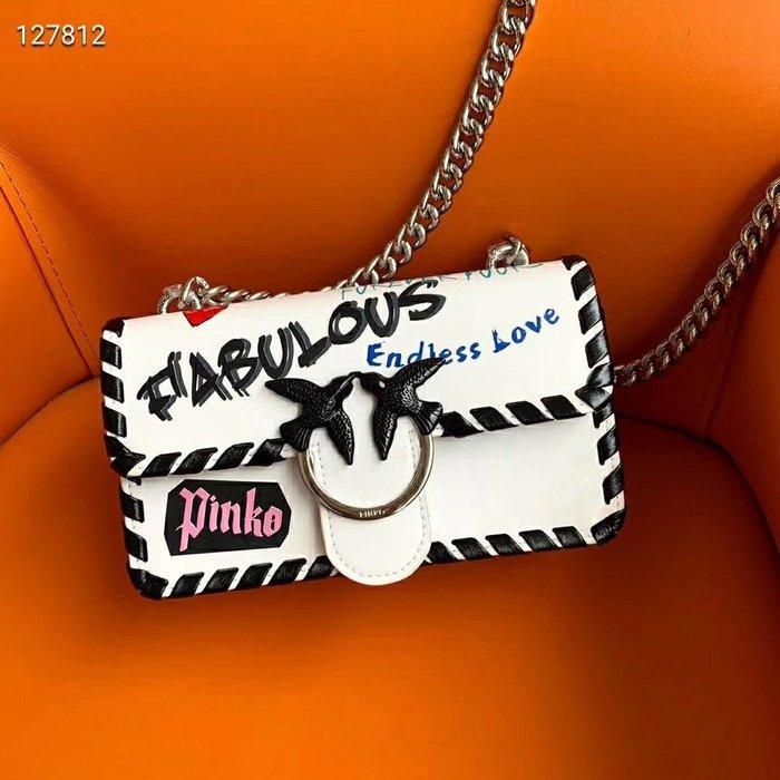 凱莉代購 Pinko 19ss春夏塗鴉款 Love Fabulous 預購