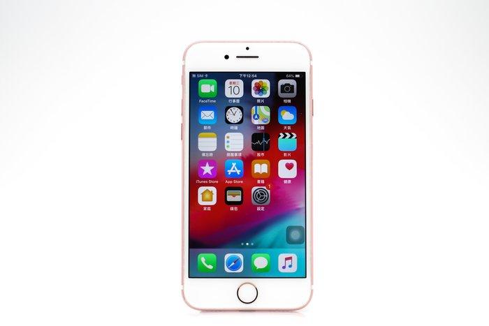 【高雄青蘋果3C】APPLE IPHONE 7 128G 128GB 玫瑰金 4.7吋 二手手機 #29673