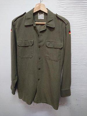 德國軍用公發老品作業襯衫German army surplus shirt