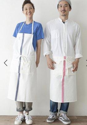 日本ナチュラルで無垢感の2 way工作圍裙(長版)/ fog linen work Lino e lina muji