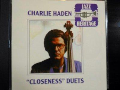 "Charlie Haden ~ ""Closeness""等三張專輯。"