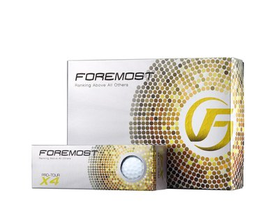 "青松高爾夫 18"" FOREMOST PRO-TOUR X4 高爾夫球(4PS) $1000元"