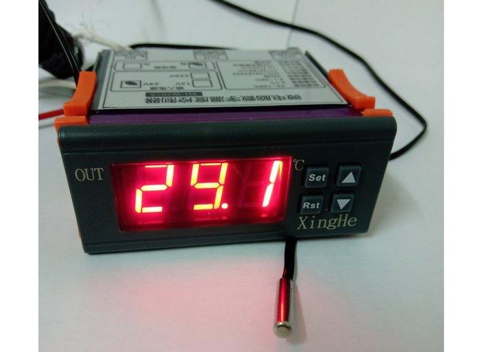制熱制冷兩用NTC溫度控制器(DC12V DC24V AC220V 三種電壓可以選)