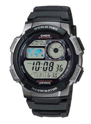 【萬錶行】CASIO 十年電力壽命 AE-1000W-1B 桃園市